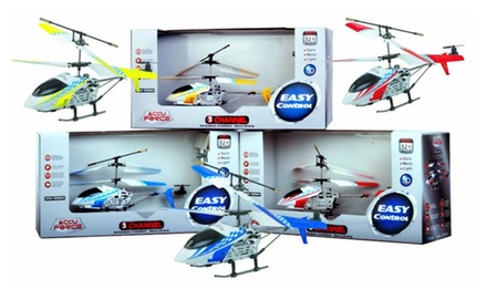 Accu Force Infrared Remote Control Helicopter - Assorted Colors