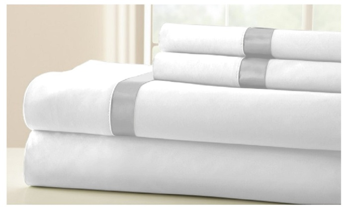 Swiss Club Collections Egyptian Comfort Wrinkle Free Bed Sheet Set ...
