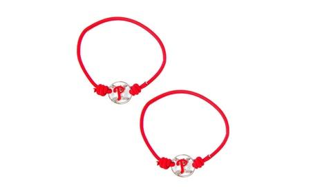 MLB Philadelphia Phillies Stretch Bracelets Hair Ties Set of 2 c52873a8-665c-42fb-b942-0321f134a41a