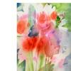 Sheila Golden Bouquet in Spring Canvas Print