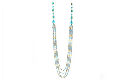 Turquoise Chain Swag Necklace d677f30f-6ff7-4d62-83b8-09543575876e