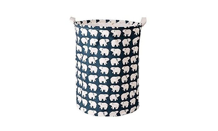 Canvas Storage Bin For Toy Storage,Storage Basket For Baby ...