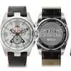 Balmer Veyron Chronograph Mens Watch Brown/Silver