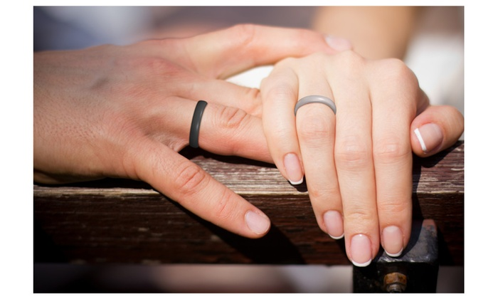 Silicone Wedding Ring for Active and Athletic Men Groupon