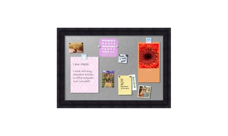 "Framed Magnetic Board Extra Large, Annatto Mahogany: Outer Size 41 x 29"" 7fda8058-ed55-4c2f-92bc-ec2509e78346"