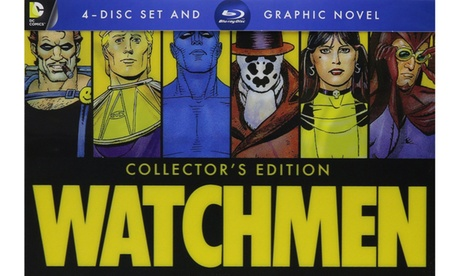 Watchmen: Ultimate Cut Graphic Novel (Blu-Ray) 30638733-8557-4932-9ff7-5626d680d26b