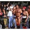 Kevin Nash, Scott Hall, X-Pac Autographed 8x10 Photo (MAB - MAB -SHXPK
