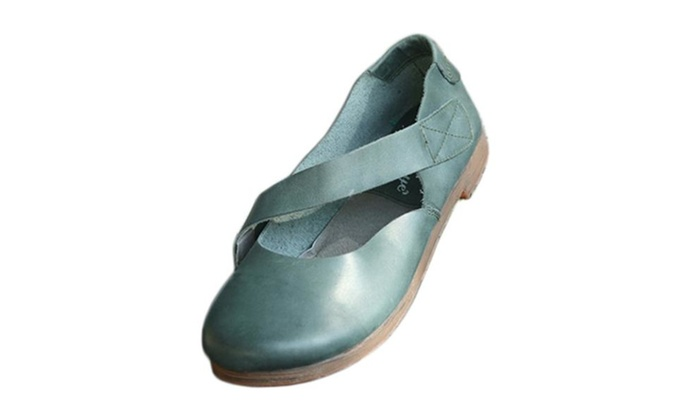 4chiclife:  Women's Handmade Mary Jane Flat Shoes