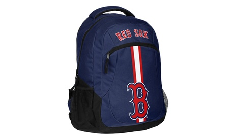 Forever Collectibles MLB Action Stripe Logo Backpack 8aa5ecf2-23d5-453f-869e-cd47d0703f6e