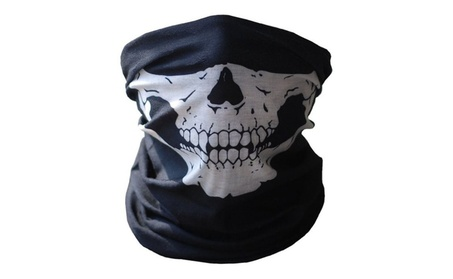 New Ghost Skull Mask Skeleton Hats Costume Cycling Army half Face Mask b8de750e-83fe-4521-b74c-920a614e8749