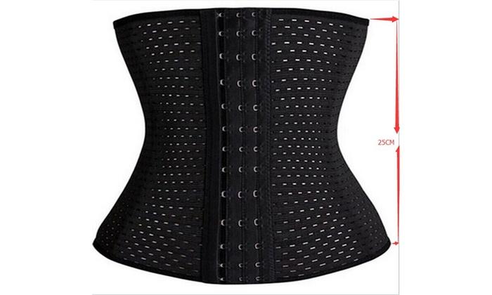 abe1860e3 Sizes XS-5XL Women Corset Waist Trainer Body Shaper Belt Shapewear