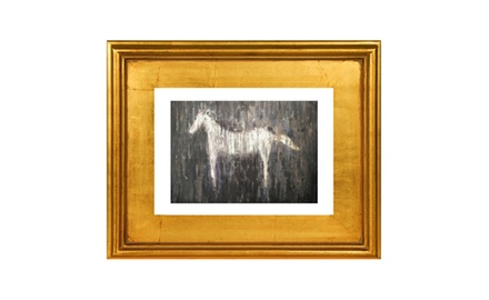 Horse Love -Framed fine art