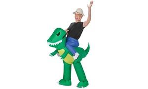 Morris SS59286G Inflate Dinosaur Rider Adult