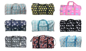 "22"" Duffel Bag with Zipper Pocket"