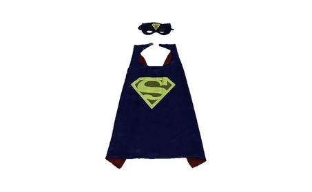 Halloween Christmas Cosplay Costume Kids Mask Superman Cloak 7c0a7f39-78a7-4f97-a200-094be8349d3f