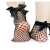 Streetwear Women's Breathable Bow Fishnet Socks