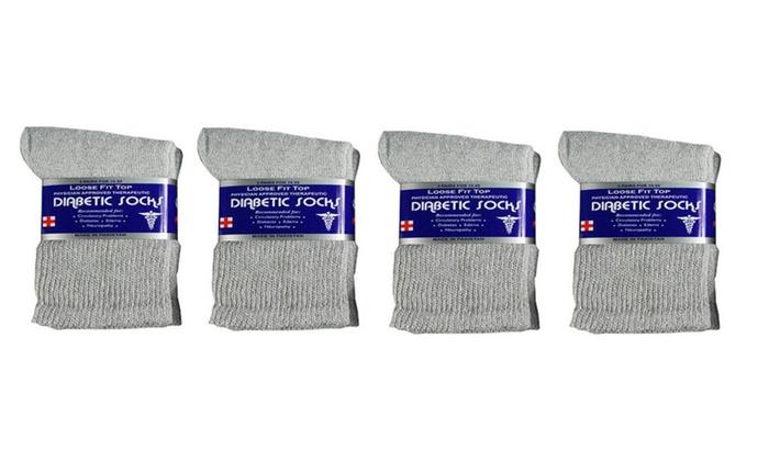 Men's Diabetic Crew Socks 90% ...