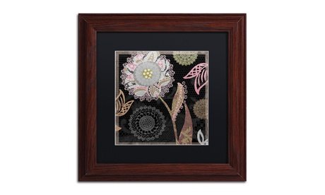 Color Bakery 'Daisy Cartwheels I' Matted Wood Framed Art bc676bb5-2c65-4dfc-9545-d25aaa7bb05e