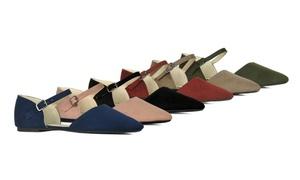 SFD Shilla-01 Women's Pointed Toe Ballet Flat