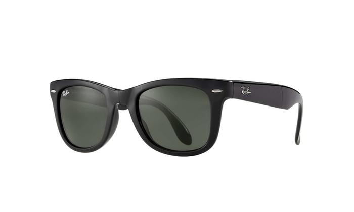 c9eefdb52da Ray-Ban RB4105 Classic Folding Wayfarer Sunglasses