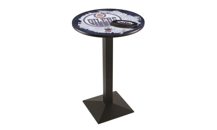 hot sales 5d03a 78249 Holland Bar Stool L217B4228EdmOil-D2 42 in. Edmonton Oilers Pub Table with  28