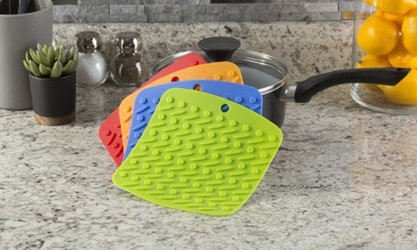 Multifunctional Silicone Pot Holder (4-Pack) 3e3180df-ef7b-4bd5-94c1-f27348e0946f