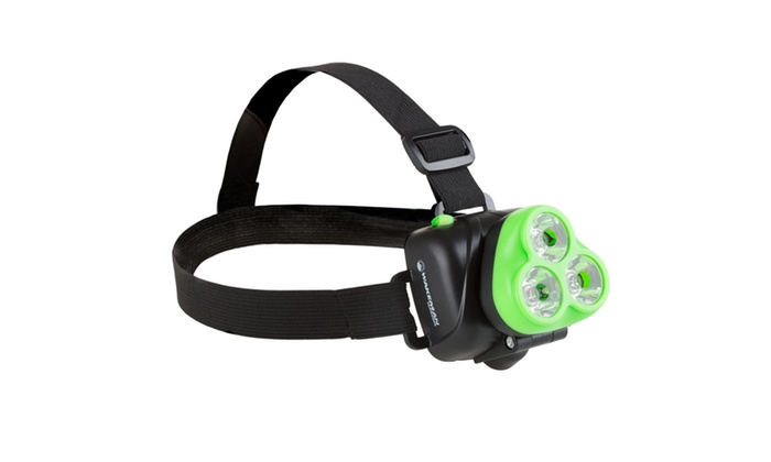 LED Headlamp, Adjustable Head Lamp Handsfree Flashlight for Camping and Hiking
