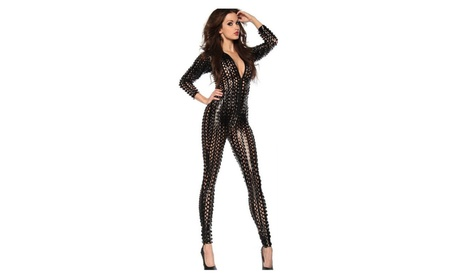 Sexy Open Scale Jumpsuit