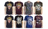 INTERNATIONAL FASHION TRENDS: Ed Hardy Men's Crewneck Graphic T-Shirt Short Sleeves
