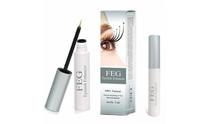 de946e68cbe FEG Eyelash Enhancer Eye Lash Rapid Growth Serum Liquid Natural 3ml ...