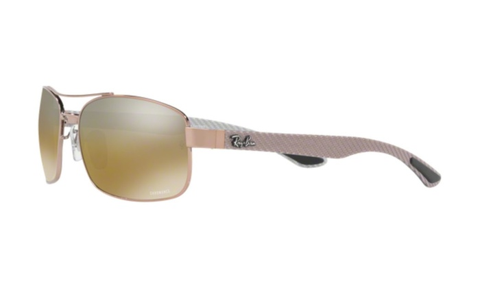 7119ffd381f Ray Ban Chromance RB8318-CH Brown Sunglasses