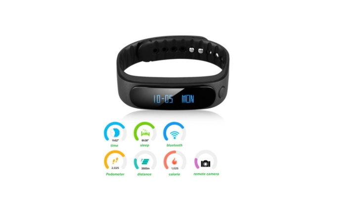New  Smart Bluetooth Wrist Sport Bracelet Waterproof Phone For Android