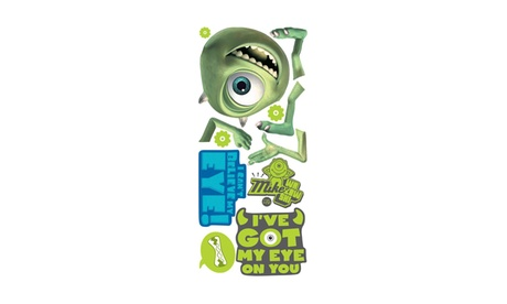 Roommates Decor Monsters, Inc. Mike Giant Wall Decal f3babf9f-d260-4b1f-beee-e5ba098d4a83
