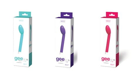 VeDO Gee Slim G-Spot Rechargeable Silicone Vibrator 10 Vibration Modes 5b5efa47-716c-44f4-8501-517296669eac