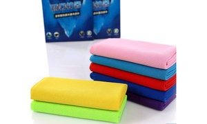 Cooling TOWEL Ice Cold Cool Sport Reuseable Cycling Jogging Golf Hiking Work NEW