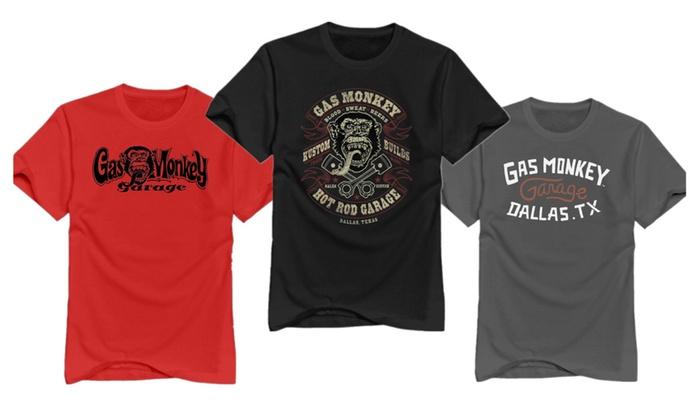3T-tshirts Men's Gas Monkey Garage Mens Graphic T-shirts
