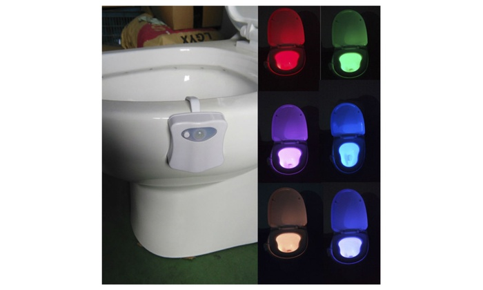 LED Color Changing Toilet Bowl Light