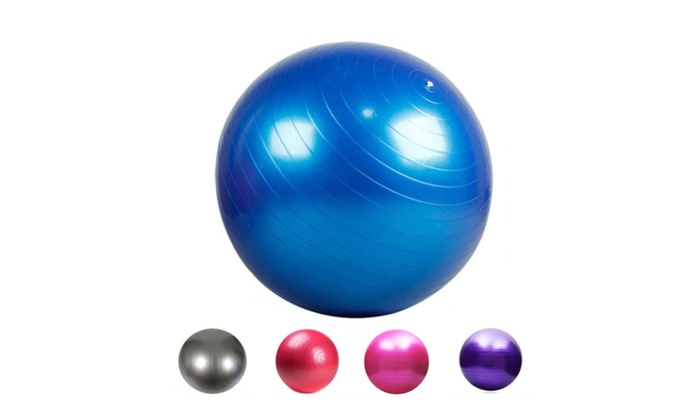 Suitable 75/85cm Anti-Burst Yoga Ball Exercise Pilates Compact Design