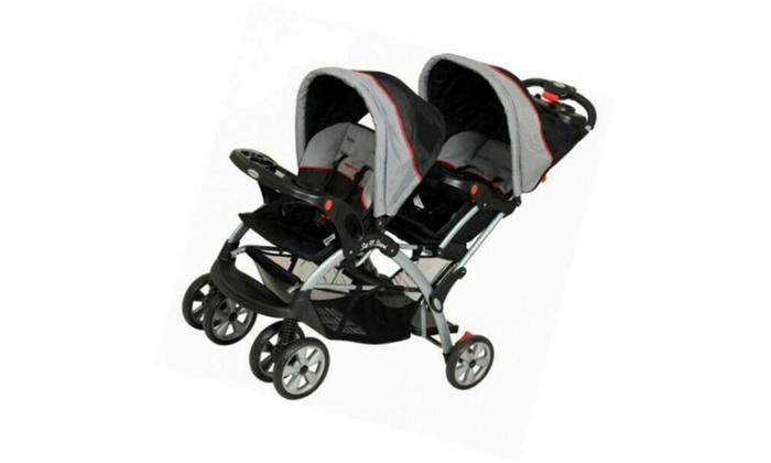 Sit N Stand Plus Double Stroller Millennium Baby Trend