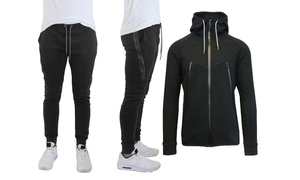 Mens Tech Fleece Jogger & Hoodie Set