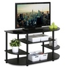 Furinno 15116EX Simple Design Corner TV Stand Espresso
