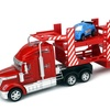 Semi Race Carrier 1:32 Friction Truck (Colors May Vary)