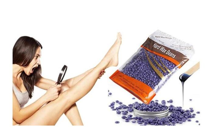 Hair Removal Hard Wax Beans, Stripless Full-Body Depilatory