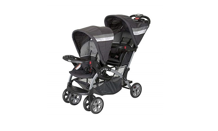 Up To 49 Off On Baby Trend Sit And Stand Doub Groupon Goods