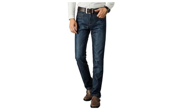 Men's Tassels Fashion ZipUpwithButtonClosure Solid Pants
