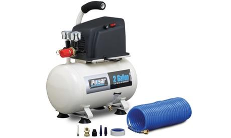 Pulsar 2 Gallon Air Compressor with 6 Piece Accessory Kit 41c719b9-871e-4df2-9f82-a672be1ac94d