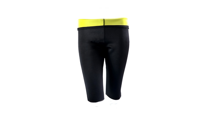 c1c1e366c7 Fitness Hot Sweat Sauna Shaper Thigh Slimmer Pants Fat Burn Shapewear 3XL