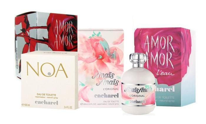 22791e2ffc Anais Anais,Noa,Amor Amor,L'eau By Cacharel EDT 3.0 oz/3.4 oz Women ...