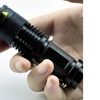 2000LM Waterproof Adjustable Focus Tactical LED Flashlight