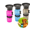 Pet Dog Dispenser Feeder Cat Portable Plastic Feeding Bowl Travel